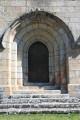 Le portail de l'église de Saint-Arcons-de-Barges