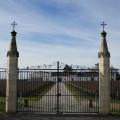 Le portail du château Mission Haut Brion
