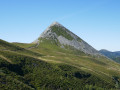 Puy Griou par Meijes Costes au-dessus du Lioran