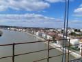 Le pont suspendu de Tonnay-Charente et le pont de la Cèpe