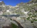 Le refuge et le lac Vert