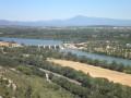 Le barrage de Villeneuve-lès-Avignon