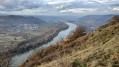 Le Rhône vu de Pierre Aiguille