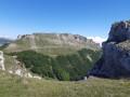 Le roc du Touleau depuis les rochers de la Sausse
