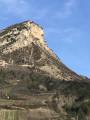 Rocher du Bramard depuis Sahune