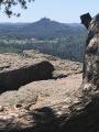 Le Rocher du Dabo vu du Geissfels