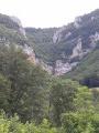 Le site de la cascade du Luizet
