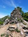 Le sommet de l'Ermitage