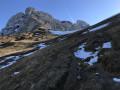 Le sommet depuis le col du Varo
