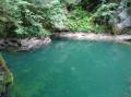 Le trou de l'Abîme et ses eaux turquoises