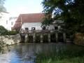 Le vannage du moulin de Coton