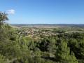 La vallée l'Obieu depuis Conhilac-Corbières