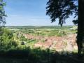 Le village de Rupt aux Nonain depuis le calvaire