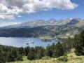 Les Bouillouses au pied du massif du Carlit