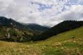 Coll de Pregon et de Siern, Serra et Baraques de l'Ullat depuis la Preste
