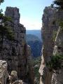 Cadières de Brandis depuis le Col des Lèques