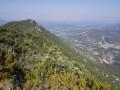 Les crêtes de la Montagne de la Bluye