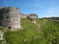 Le château et les étangs d'Arques-la-Bataille