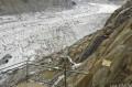 Les escaliers depuis la Mer de Glace