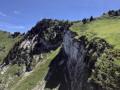 Les falaises au Nord Ouest du Charmant Som