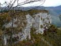 Les falaises du Mont Peney