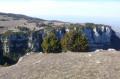 Les falaises vues du Sommet 924 m