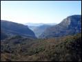 Les Gorges du Loup au loin, vers la balise 87a