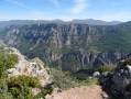 Les Gorges du Verdon - sommet du grand Marges