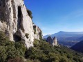 The ridges of the Petites and Grandes Dentelles de Montmirail