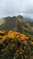 Les monts d'Olmes vu du pic de Girabal