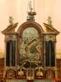 Le retable de l'église de Ste Colombe (89520)