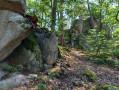 Les rochers du Wolfskirche