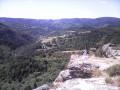 les roches vers l'ouest