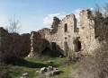 Les ruines du hameau de Saint Quentin avant leur réhabilitation