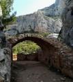 Les Harmelins et les ruines du Trou