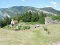 Les ruines du hameau de Valchevrières