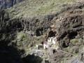 Les ruines en contrebas