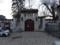 Liverdun, porche d'entrée du château de Corbin