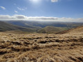Fell Head and The Calf, from Howgill, near Sedbergh