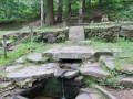 Magnifique fontaine aménagée