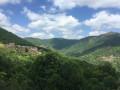 Magnifique vue qui nous permet d'admirer le village de La Coste et de Perries et un troisième village au loin dont on ne sait pas le nom!