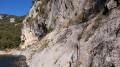 Gorges de l'Ardèche entre bivouac du Gournier et cirque de la Madeleine