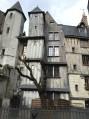 Maison médiévale biscornue