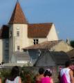 """Manoir du XV et XVI siècle et sa tour polygonale dite """" d'Auzone"""""""