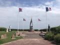 """Mémorial """"La Flamme"""" en hommage aux commandos débarqués le 6 juin 1944"""