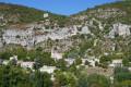 Monieux depuis la chapelle Saint-Roch