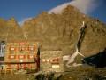 Mont Viso et refuge Sella
