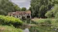 Deux moulins, trois églises et deux îles dans une boucle de la Seine