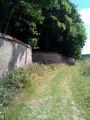 Mur d'enceinte aux innombrables briques