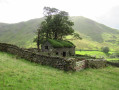 Old barn at Hayeswater Gill